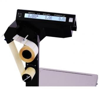 весы с термопринтером